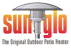 Original Sunglo outdoor patio heater